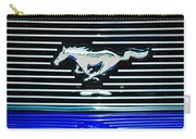 2007 Ford Mustang Grille Emblem Carry-all Pouch