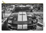 2007 Ford Mustang Shelby Gt500 Painted Bw  Carry-all Pouch