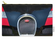 2008 Bugatti Veyron Grille Emblem -1288c Carry-all Pouch