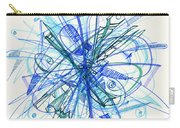 2010 Abstract Drawing 21 Carry-all Pouch