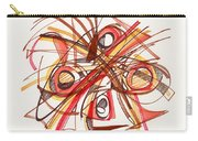 2010 Abstract Drawing 23 Carry-all Pouch