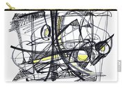 2010 Abstract Drawing 27 Carry-all Pouch