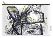 2010 Abstract Drawing 28 Carry-all Pouch