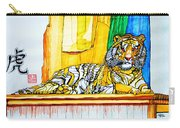 2010 Year Of The Tiger Carry-all Pouch