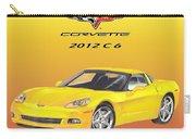 2012 C 6 Corvette Carry-all Pouch