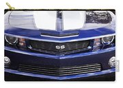 2012 Camaro Blue And White Ss Camaro Carry-all Pouch