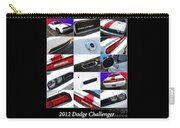 2012 Dodge Challenger-white-1 Carry-all Pouch