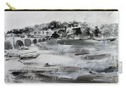 2013-008 Arlington Memorial Bridge And Potomac River - Silver And White Carry-all Pouch