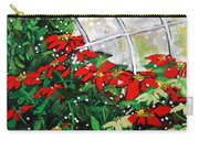 2013 010 Poinsettias And Dots Conservatory At The Us Botanic Garden Washington Dc Carry-all Pouch