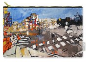 2013 015 Crosswalk Silver Orange And Blue Arlington Virginia Carry-all Pouch