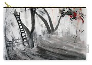 2013 058 Tree And Ladder Alexandria Virginia Silver Black White Red Carry-all Pouch