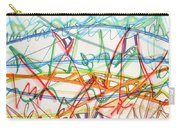 2013 Abstract Drawing #7 Carry-all Pouch