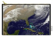 2013 Blizzard In Northeast Nasa Carry-all Pouch