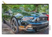 2013 Ford Shelby Mustang Gt 5.0 Convertible Painted   Carry-all Pouch