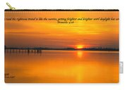 2014 02 25 03 Proverbs 4 18 Carry-all Pouch