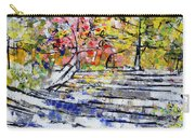2014 19 Silver And Blue Stairs To Pink And Yellow Woods Srpsko Sarajevo Carry-all Pouch