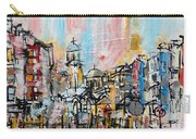 2014 23 City Street With Church At Sunset Srpsko Sarajevo Carry-all Pouch