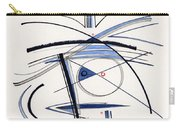 2014 Abstract Drawing #1 Carry-all Pouch