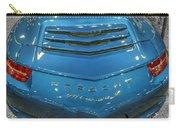 2014 Porsche 911 Carrera S Blue Carry-all Pouch
