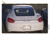 2014 Porsche Cayman White Carry-all Pouch