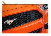2015 Ford Mustang Prototype Grille Emblem -0092c Carry-all Pouch