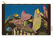 2015 Rose Parade Float Of Butterflies 15rp045 Carry-all Pouch