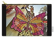 2015 Rose Parade Float With Butterflies 15rp043 Carry-all Pouch
