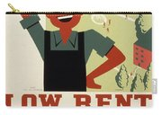 New Deal Wpa Poster Carry-all Pouch