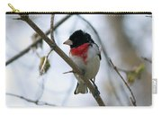 Rose Breasted Grosbeak Carry-all Pouch