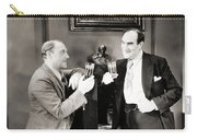Silent Film Still: Drinking Carry-all Pouch