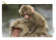 Snow Monkeys Japan Carry-all Pouch