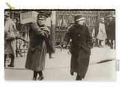 Wwi Refugees, 1918 Carry-all Pouch