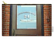 24 Yawkey Way Carry-all Pouch