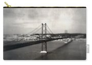 25 De Abril Bridge II Carry-all Pouch by Marco Oliveira