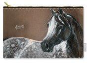 Arabian Horse Carry-all Pouch by Angel  Tarantella