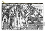 Dance Of Death, 1538 Carry-all Pouch