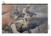 29 Palms Mural 1 Carry-all Pouch by Bob Christopher