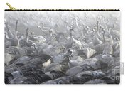 Flock Of Common Crane  Carry-all Pouch