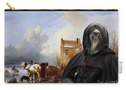 Tibetan Terrier Art Canvas Print Carry-all Pouch