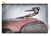 1937 Cadillac V8 Hood Ornament Carry-all Pouch
