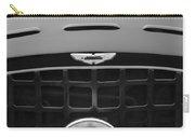 1952 Aston Martin Db3 Sports Hood Emblem Carry-all Pouch by Jill Reger