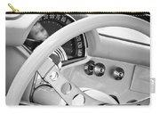 1957 Chevrolet Corvette Steering Wheel Emblem Carry-all Pouch