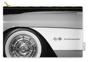 1957 Chevrolet Corvette Wheel Emblem Carry-all Pouch