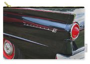 1957 Ford Fairlane Convertible Wheel Emblem Carry-all Pouch