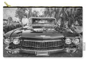 1960 Cadillac Eldorado Biarritz Convertible Painted Bw Carry-all Pouch