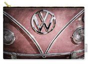 1964 Volkswagen Vw Double Cab Emblem Carry-all Pouch