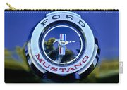 1965 Shelby Prototype Ford Mustang Emblem Carry-all Pouch by Jill Reger