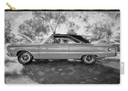 1967 Plymouth Belvedere Gtx 440 Painted Bw Carry-all Pouch
