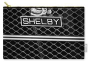 1969 Shelby Gt500 Convertible 428 Cobra Jet Grille Emblem Carry-all Pouch