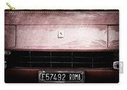 1972 Ferrari 365 Gtb-4a Grille Emblem Carry-all Pouch